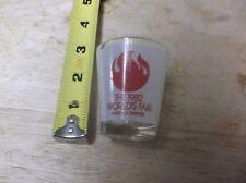 CR) Vintage 1982 Worlds Fair Shot Glass