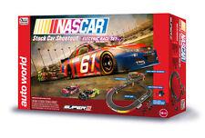 Auto World Slot Car Race Set Nascar Stock Car Shootout 10' HO Round 2 SRS314