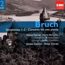 Max Bruch : Bruch: Symphonies 1-3/Concerto for Two Pianos CD (2009) ***NEW***