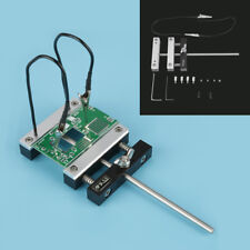 Circuit Board Repair Soldering Station PCB Plate Holder with Two Caliper Clamp z