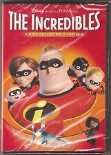 Disney Pixar The Incredibles Dvd 2-Disc Collector's Edition Brand New
