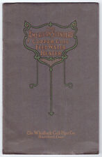The Whitlock Coil Pipe Co.Illustrated product booklet, circa 1900