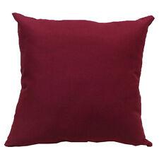 Tropical Beach Cushion Cover Rainforest Palm/Banana Leaf Pattern Pillowcase Home