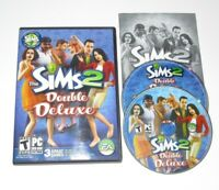 The Sims 2 Double Deluxe Game PC Complete 2008