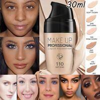 30ml Professional Liquid Foundation Face Base Concealer Matt Long Lasting Makeup