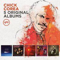 CHICK COREA - 5 ORIGINAL ALBUMS 5 CD NEU