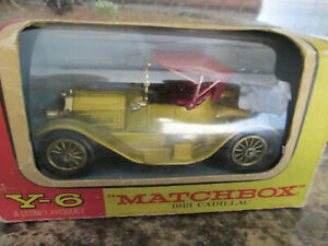MATCHBOX MODEL OF YESTERYEAR Y6 1913 CADILLAC BOXED