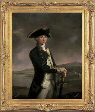 "Old Master Art Antique Portrait Gentleman Horatio Nelson Oil Painting 30""x40"""