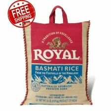 Royal Premium-Aged White Basmati Rice (20 lbs.)