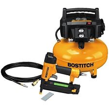 Compressor Combo Kit with PVC Air Hose and Fittings 6 Gallon Black & Yellow