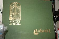 16 VILLE IN ITALIA GABETTI 1960