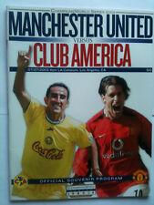 Menta 2003 club América v Manchester United 2003 US Tour