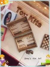 1:12 Dollhouse Miniature Backgammon Set Kit DI TY112