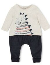 Fox & Finch Dinosaur Coverall x2 available for twins - Baby Boy Clothes / Outfit