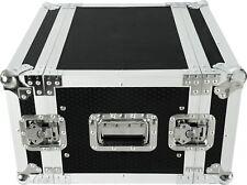 "CaseToGo 6RU 19"" effects rack case flightcase - 350mm sleeve depth"