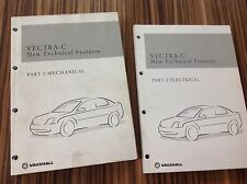 Vauxhall Opel product new technical features Vectra C
