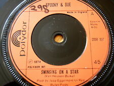 "SPOOKY & SUE - SWINGING ON A STAR  7"" VINYL"