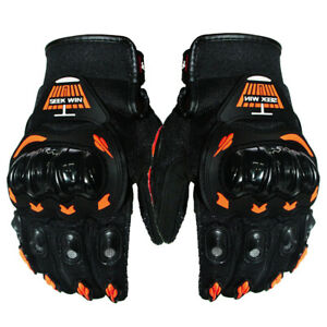 Mens Motocross Cycling Gloves Full Finger Riding Motorbike Motorcycle Gloves