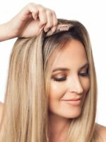 Remy Human Hair Lace Toppers Blonde Ombre Balayage Hairpiece Toupee Hair Closure