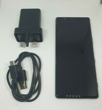 Sony Xperia 5 (J8210) 128GB Negro 6GB RAM (Desbloqueado) Teléfono Inteligente