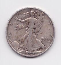 1935 Walking Liberty Half Dollar 50c US Coin 90% Silver FREE SHIPPING!!