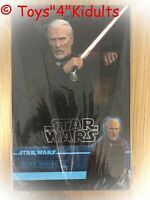 Hot Toys MMS 496 Star Wars Attack of the Clones Count Dooku Christopher Lee NEW