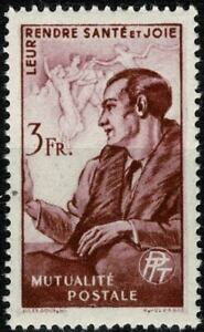 FRANCE 1945 Timbre de bienfaisance des PTT N° 43 Neuf ★★ luxe / MNH