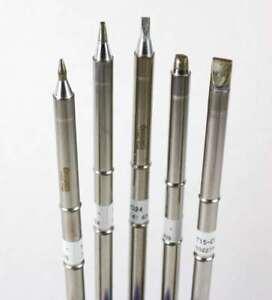 Hakko T15 Series Chisel Tip Pack with T15-D08/D12/D24/D32/D52 Tips