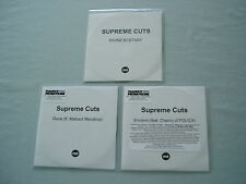 SUPREME CUTS job lot of 3 promo CD album/singles Divine Ecstasy Envision Polica