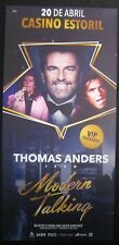 Thomas Anders from Modern Talking- Concert Promo Flyer Poster