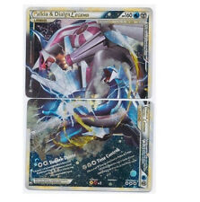 Palkia & Dialga Legend 101+102/102 Both Top+Bottom Complete Full Set Holo Foils