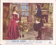 FOREVER AMBER LINDA DARNELL CORNEL WILDE LOBBY CARD #8