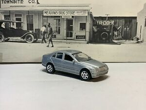 WELLY MERCEDES BENZ C-CLASS,SILVER No.2234 LOOSE 1:64