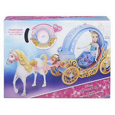 Disney Princess Cinderella Magical Transforming Carriage New