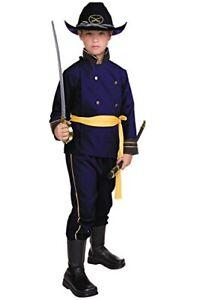 Union Officer - Economy - Civil War - Blue - Costume - Child - Medium 8-10