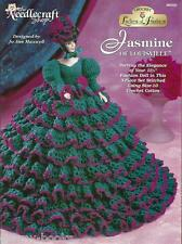 Jasmine of Louisville Ladies of Fashion Gown Crochet Pattern for Barbie Doll NEW