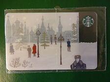RUSSIA, STARBUCKS RUSSIAN CARD,2014,ALEXANDROVSKIY SAD,SEALED.RARE