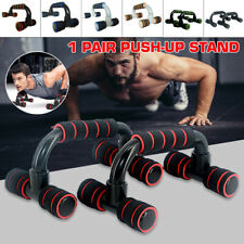 2x Pcs Push up Stand Bars 200kg Handles Press Home Muscle Exercise Workout Gym