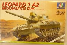Italeri 1/35 Leopard 1 A2 Medium Battle German Tank 374