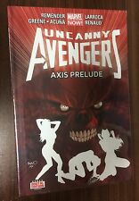 UNCANNY AVENGERS Volume 5 Hardcover -- Axis Prelude -- Remender -- SEALED HC