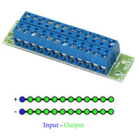 1 Set Power Distribution Board 2 Inputs 22 Outputs for DC and AC Voltage PCB004