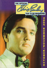 OFFICIAL ELVIS PRESLEY FAN CLUN MAGAZINE 2006 OCTOBER/NOVEMBER