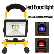 60W Rechargeable Floodlight Work Light Security USB Outdoor Camping Lamp 30 LED