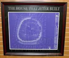 New York Yankees Yankee Stadium Framed House That Derek Jeter Built Display