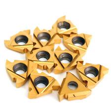 10 Inserti placche tornio 16ER AG60 60° gradi Carbide Threading filettatura cnc