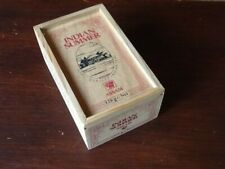 ASSAM TEA INDIAN SUMMER WOODEN TEA CADDY BOX