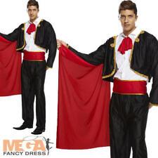 Matador Spanish Bull fighter Men's Fancy Dress Adult Costume National Uniform