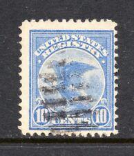 Scott # F1, used, F, 10¢ Registration Stamp, 1911, Hand-Stamped Ellipse Cancel