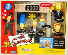The Simpson'S New Years Eve Playset Environment - Playmates 2003