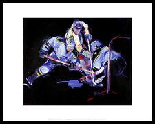 Terry Rose Shot...And a Save! Poster Bild Kunstdruck & Alurahmen schwarz 28x36cm